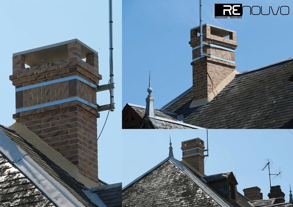 Rénovation d'une ancienne cheminée